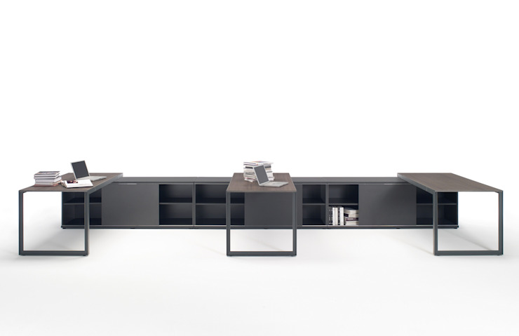 K-system de Riviera Moderno Compuestos de madera y plástico