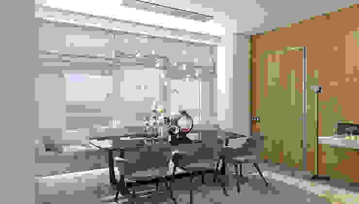 Квартира в ЖК Аэробус Столовая комната в стиле минимализм от 1+1 studio Минимализм