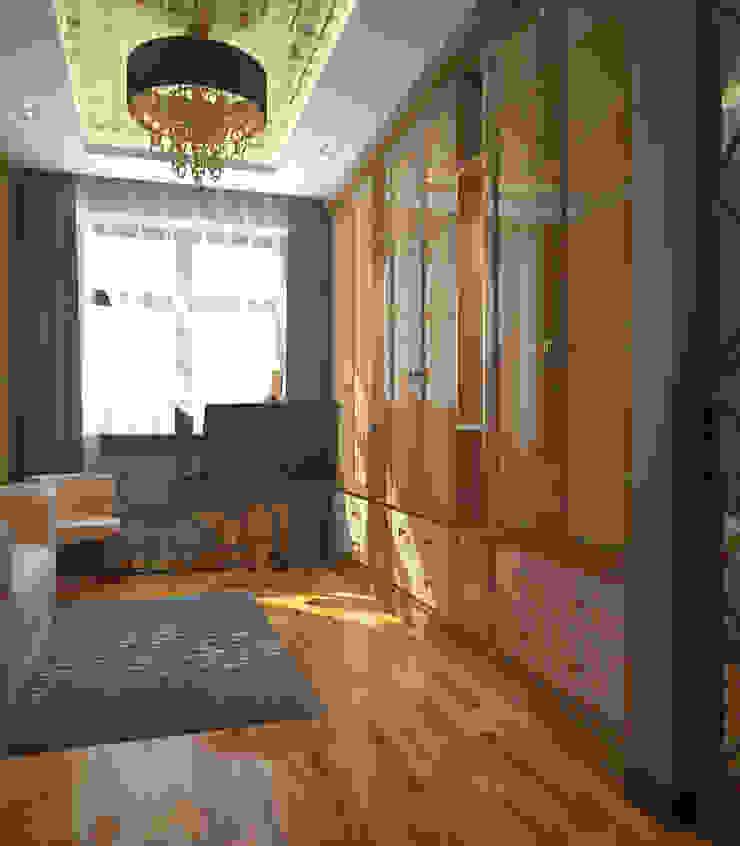 Гардеробные комнаты. Гардеробная в стиле модерн от Архитектурно-дизайнерская компания Сергея Саргина Модерн