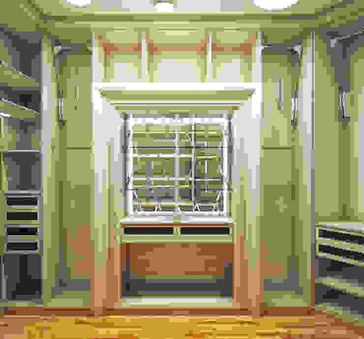 Vestidores y placares de estilo moderno de Архитектурно-дизайнерская компания Сергея Саргина Moderno