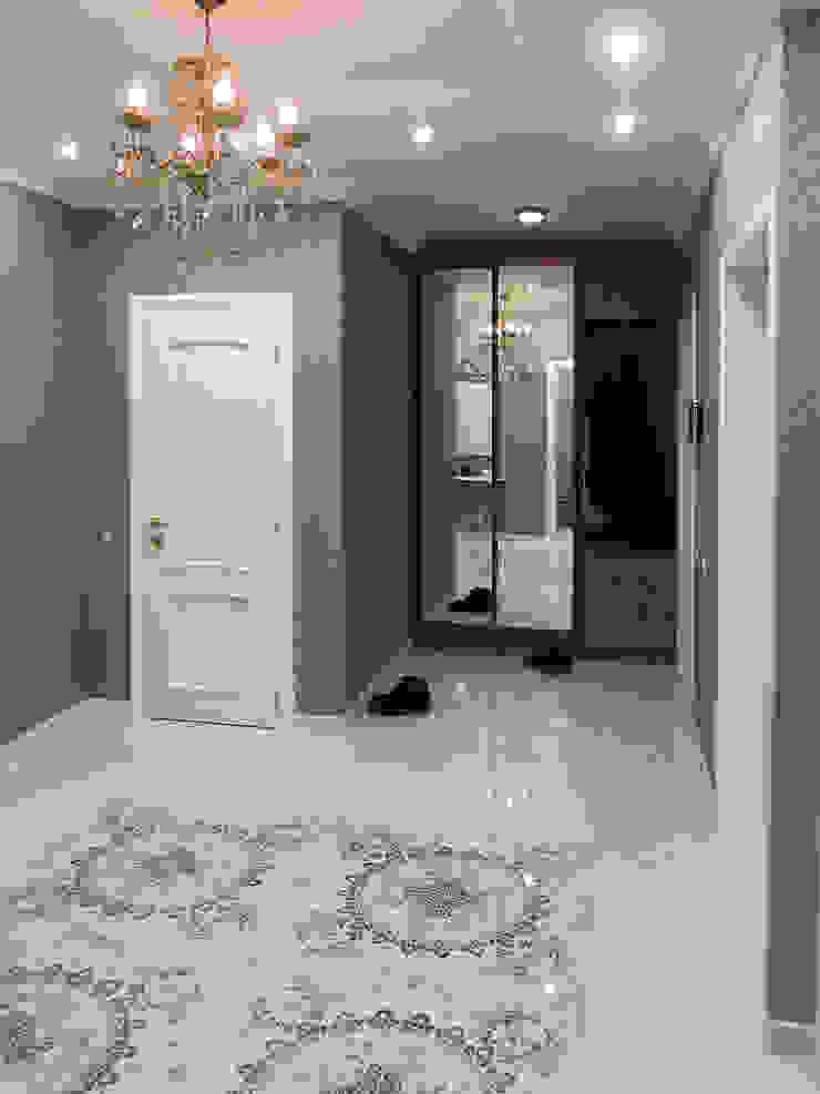 Квартира 95 кв.м. в ЖК Московский. Коридор, прихожая и лестница в классическом стиле от Архитектурно-дизайнерская компания Сергея Саргина Классический