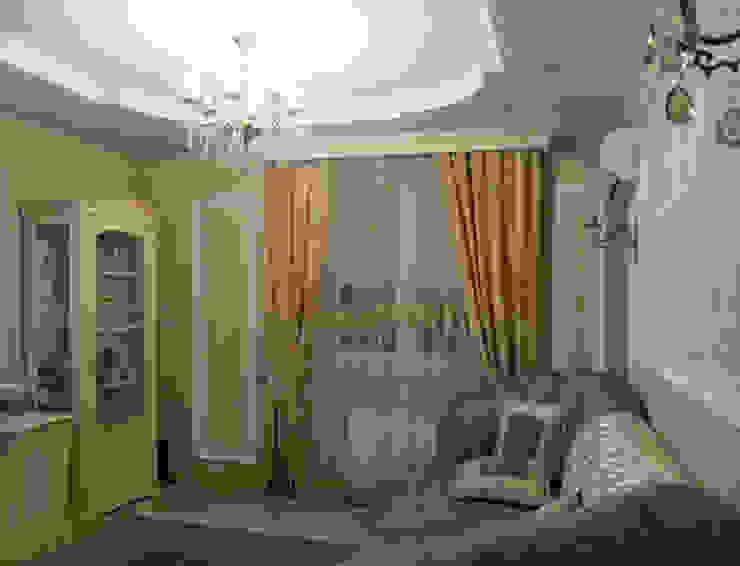 Квартира 95 кв.м. в ЖК Московский. Гостиная в классическом стиле от Архитектурно-дизайнерская компания Сергея Саргина Классический