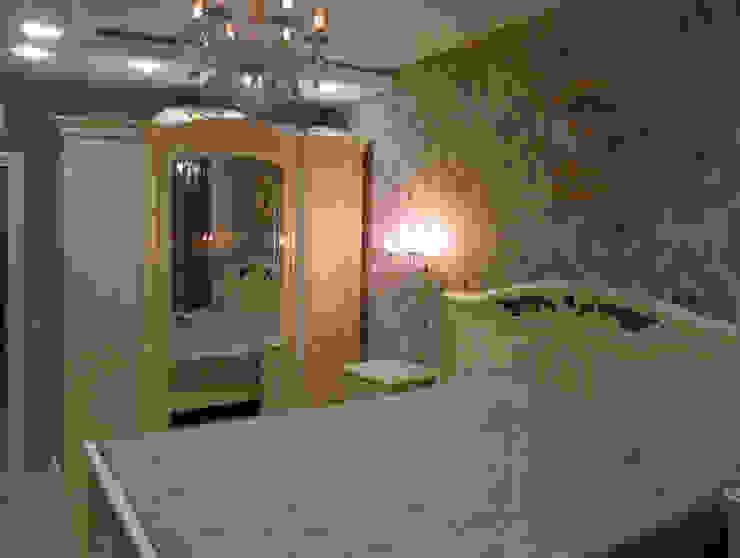 Квартира 95 кв.м. в ЖК Московский. Спальня в классическом стиле от Архитектурно-дизайнерская компания Сергея Саргина Классический