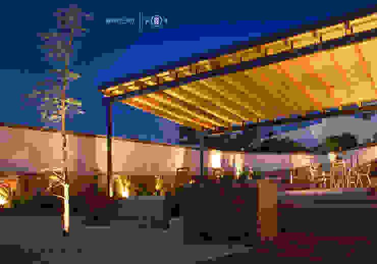 Iluminación jardín Jardines minimalistas de Región 4 Arquitectura Minimalista