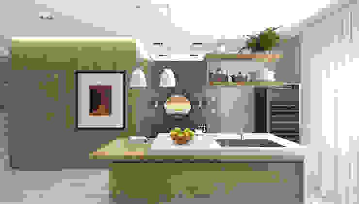 1+1 studio 現代廚房設計點子、靈感&圖片