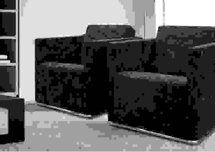 Sofá Glamour – Grassoler de Riviera Moderno Textil Ámbar/Dorado