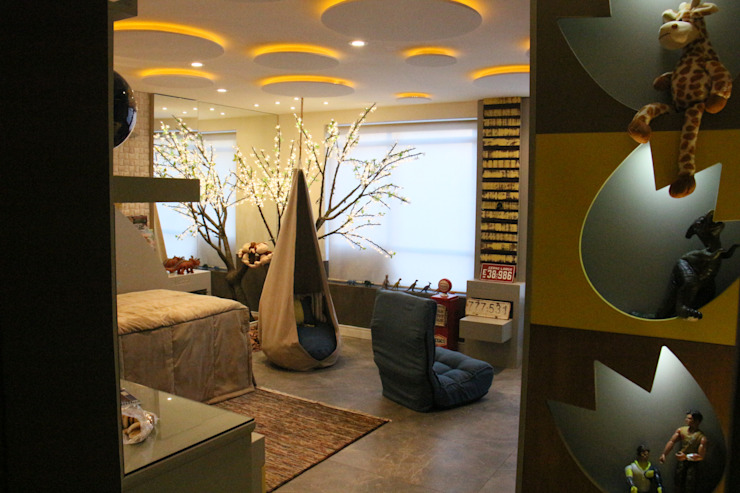 Детская комната в стиле модерн от casulo arquitetura design Модерн