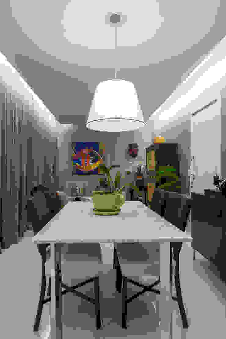 Apartamento Santo Agostinho Salas de jantar modernas por Melina Mundim | Design de Interiores Moderno