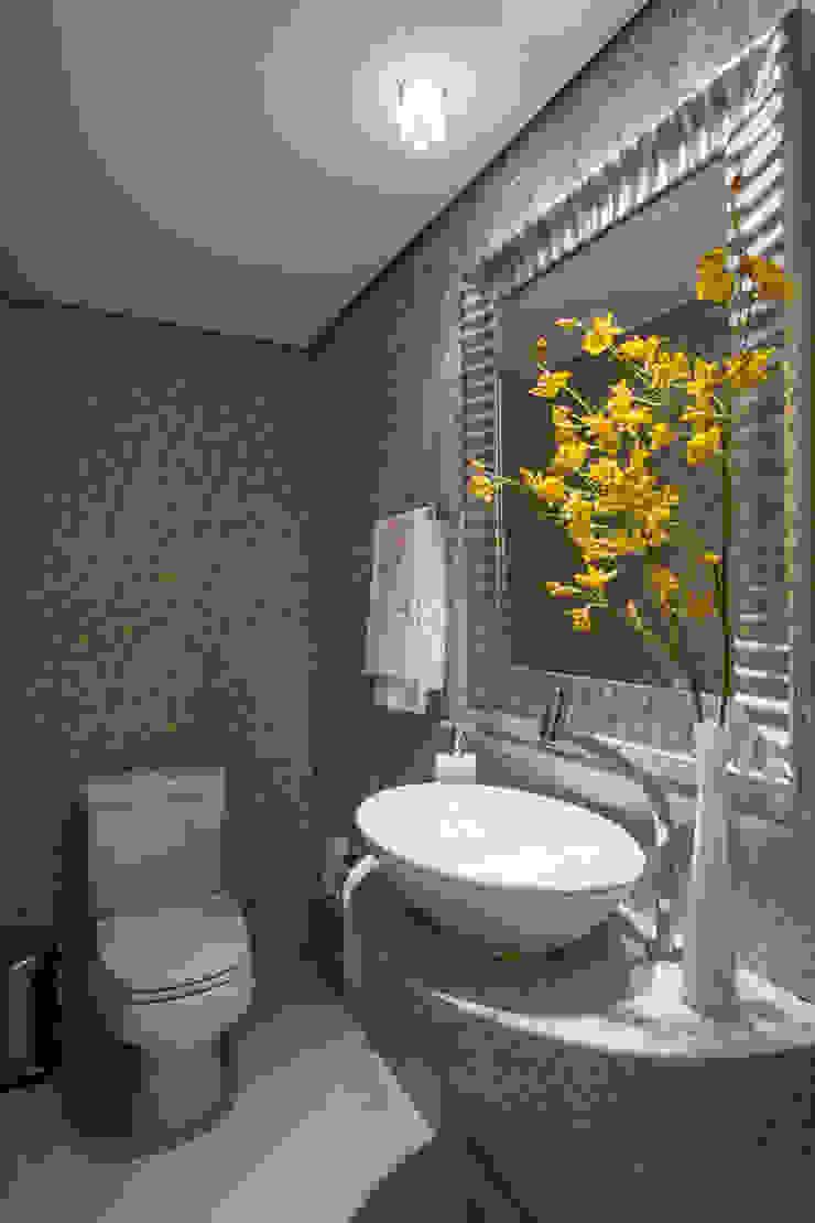 Apartamento Santo Agostinho Banheiros modernos por Melina Mundim | Design de Interiores Moderno