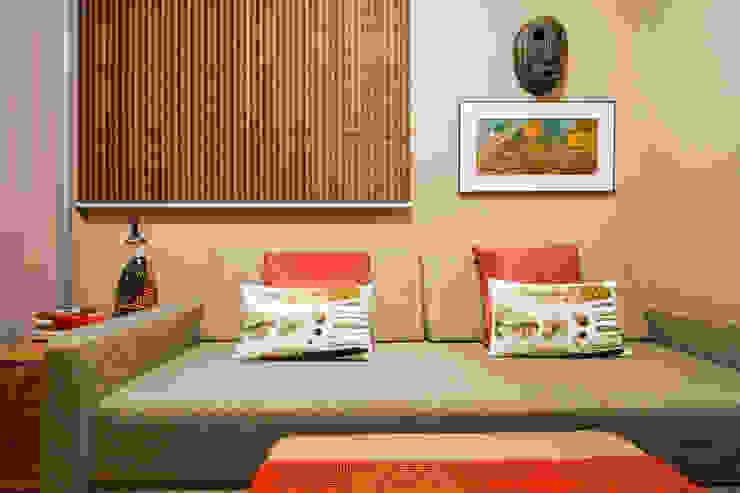 Apartamento Santo Agostinho Salas multimídia modernas por Melina Mundim | Design de Interiores Moderno
