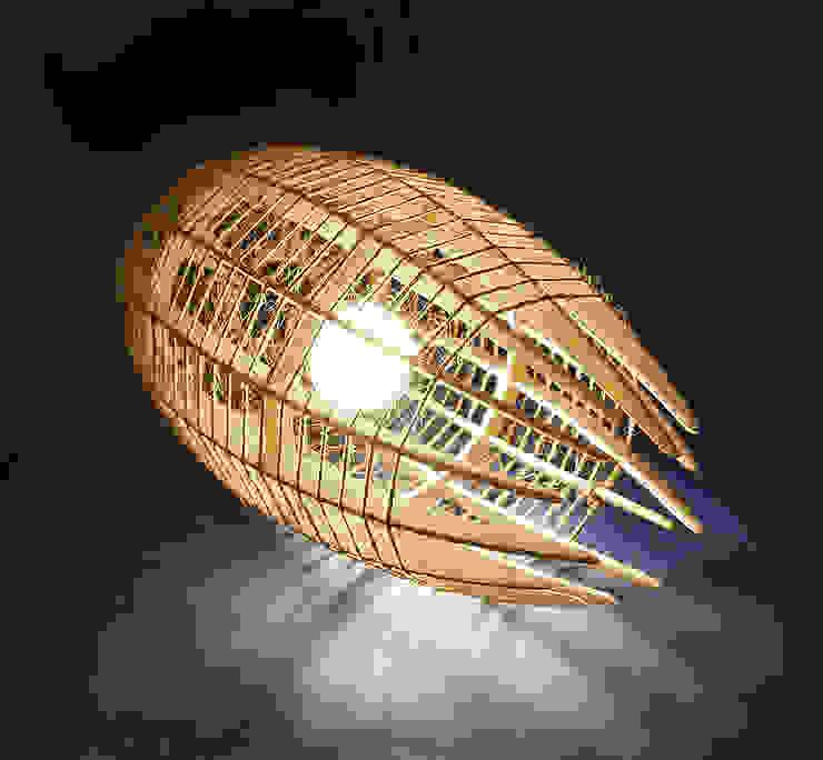 """светильник """"КОКОН"""" от Чудо дерево Лофт Фанера"""