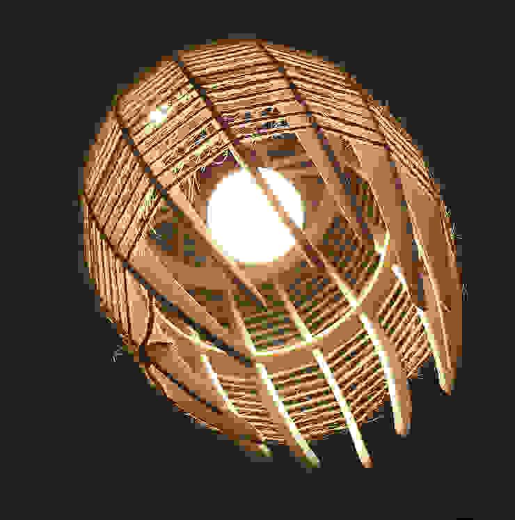 """Люстра-светильник """"КОКОН"""" от Чудо дерево Лофт Фанера"""