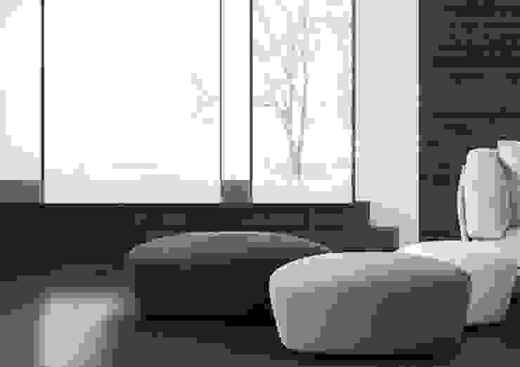 de Riviera Moderno Textil Ámbar/Dorado