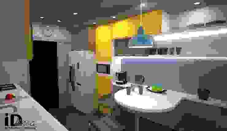 Cocinas de estilo moderno de iD linea Moderno