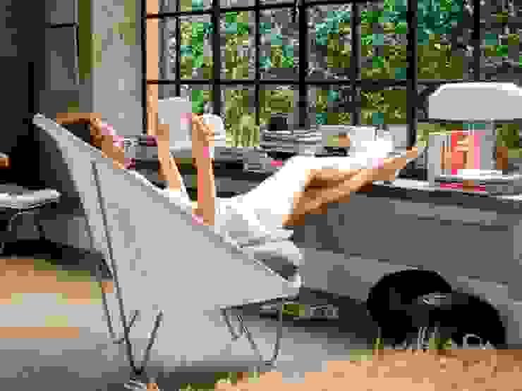 Lloyd Loom Furniture Viva Lagoon Ltd Living roomSofas & armchairs Natural Fibre Grey