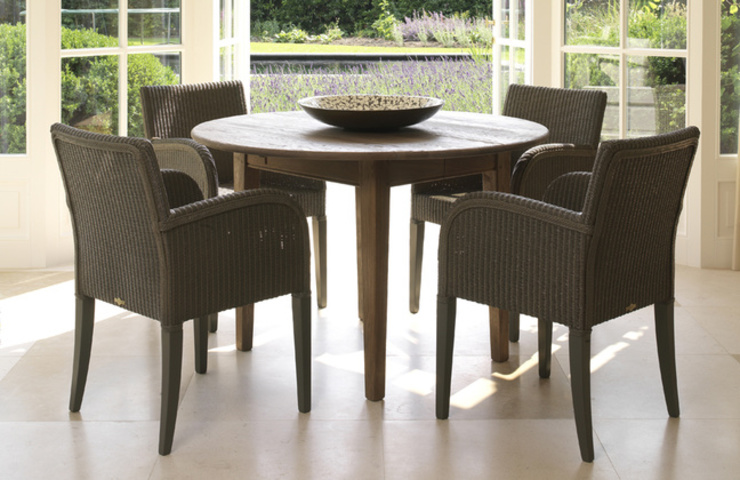 VINCENT SHEPPARD - HENRY DINING CHAIR Viva Lagoon Ltd Dining roomChairs & benches Natural Fibre Brown