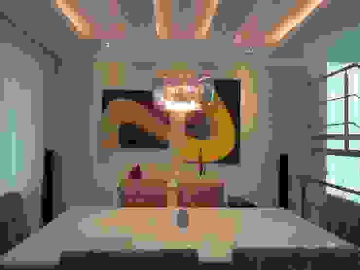 CASA DUPLEX SÃO GONÇALO Salas de jantar modernas por Claudia Fonseca Designer de Interiores Moderno