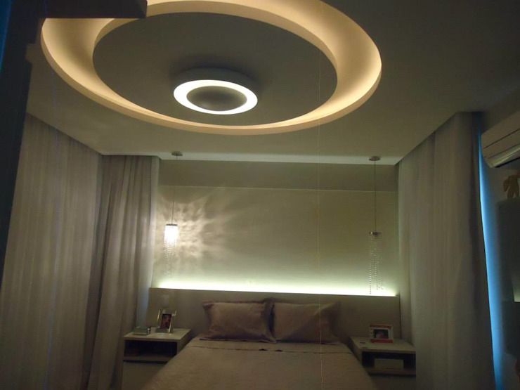 CASA DUPLEX SÃO GONÇALO Quartos modernos por Claudia Fonseca Designer de Interiores Moderno