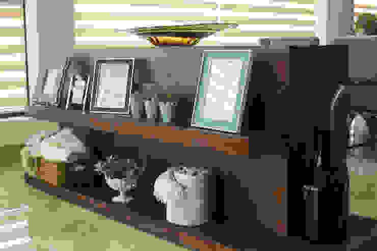 Diseño de mueble doble vista. de Dovela Interiorismo Moderno Madera Acabado en madera