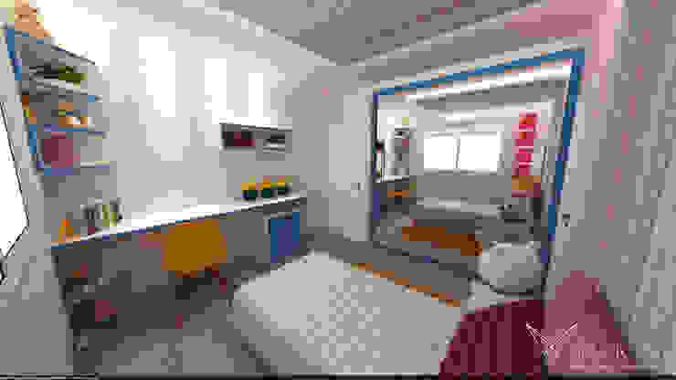 SQ1 Quarto infantil moderno por Nankyn Arquitetura & Consultoria Moderno