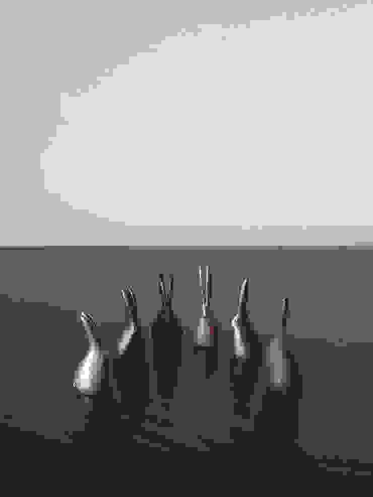 林悠介デザイン原型の干支シリーズ ウサギ: 大寺幸八郎商店が手掛けた折衷的なです。,オリジナル 銅/ブロンズ/真鍮