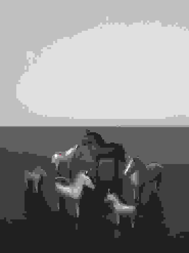 林悠介デザイン原型の干支シリーズ ウマ: 大寺幸八郎商店が手掛けた折衷的なです。,オリジナル 銅/ブロンズ/真鍮