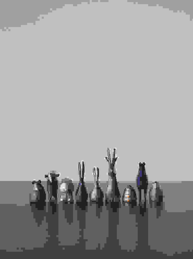 林悠介デザイン原型の干支シリーズ: 大寺幸八郎商店が手掛けた折衷的なです。,オリジナル 銅/ブロンズ/真鍮