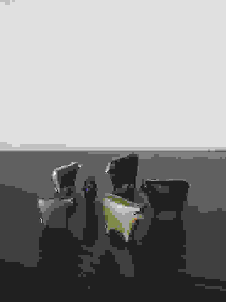 林悠介デザイン原型の干支シリーズ ウシ: 大寺幸八郎商店が手掛けた折衷的なです。,オリジナル 銅/ブロンズ/真鍮