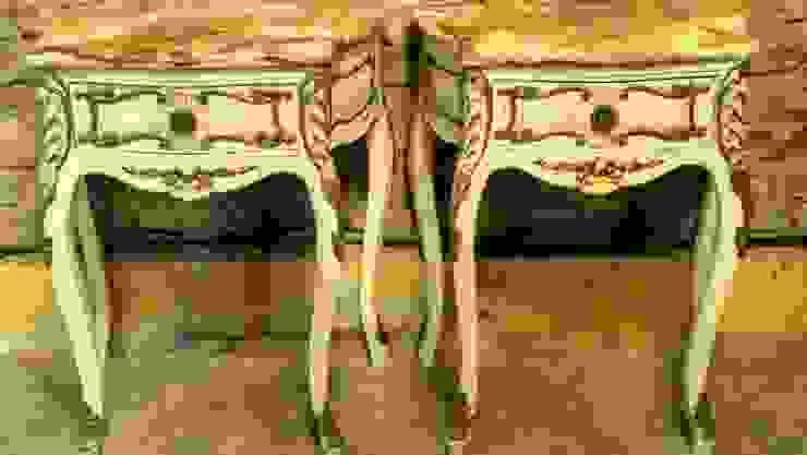 ANTIGUAS MESITAS DE LUZ ESTILO FRANCES LUIS XV de Muebles eran los de antes - Buenos Aires Clásico Madera maciza Multicolor