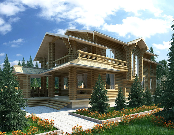 Houses by Design studio of Stanislav Orekhov. ARCHITECTURE / INTERIOR DESIGN / VISUALIZATION., Classic