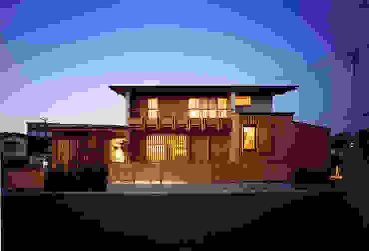 大野中の家1 日本家屋・アジアの家 の 辻健二郎建築設計事務所 和風