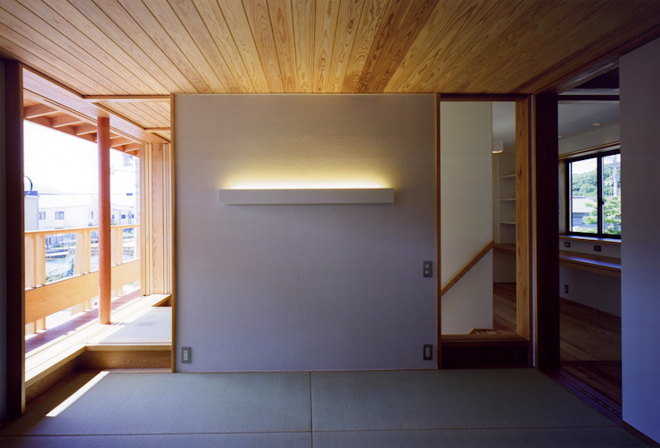大野中の家1 和風の 寝室 の 辻健二郎建築設計事務所 和風