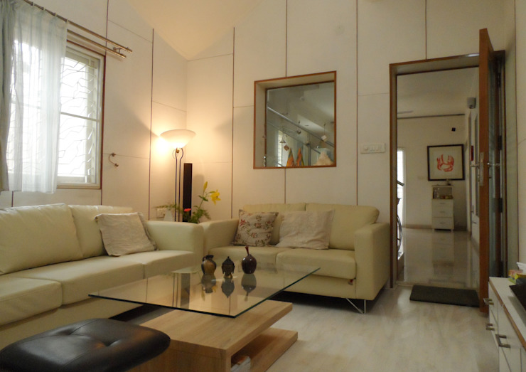 FORMAL LIVING Minimalist living room by VERVE GROUP Minimalist