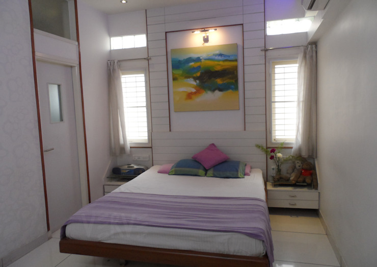 YOUNG GIRL'S ROOM 1 Minimalist bedroom by VERVE GROUP Minimalist