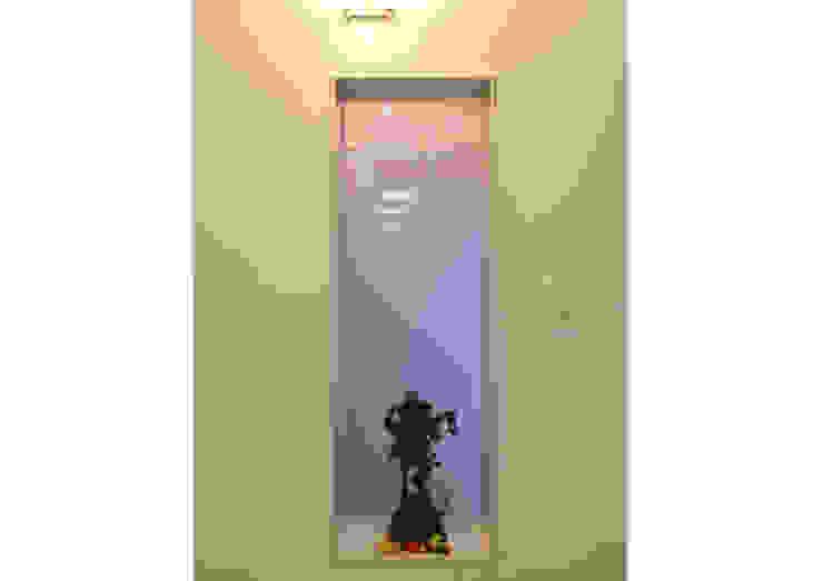 BACKLIT GANESHA SCULPTURE : minimalist  by VERVE GROUP,Minimalist Copper/Bronze/Brass