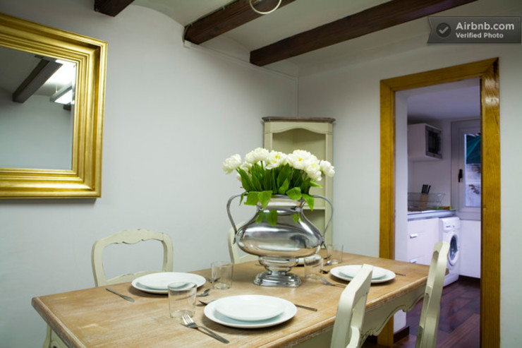 Comedor Upper Design by Fernandez Architecture Firm Colonial style dining room
