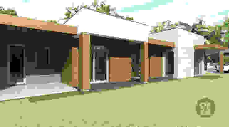 ATELIER OPEN ® - Arquitetura e Engenharia Casas de estilo moderno