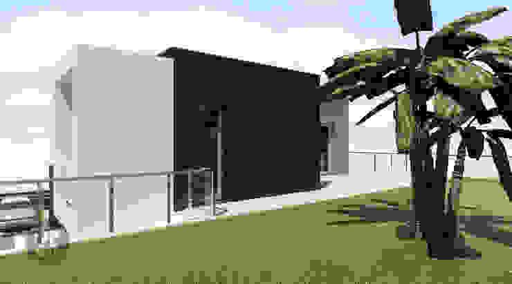 Moradia Unifamiliar – Charneca de Caparica Casas modernas por ATELIER OPEN ® - Arquitetura e Engenharia Moderno