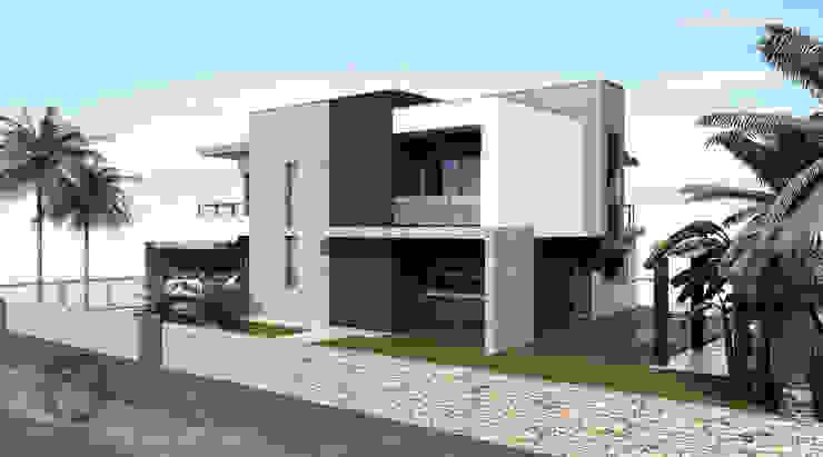 Moradia Unifamiliar - Moçambique Casas modernas por ATELIER OPEN ® - Arquitetura e Engenharia Moderno