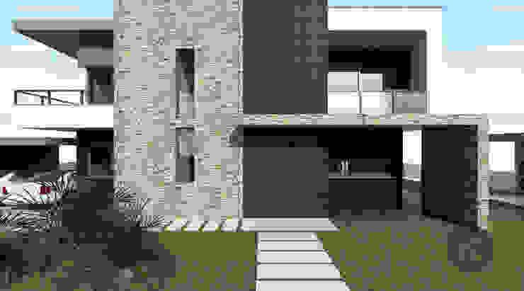 Moradia Unifamiliar – Moçambique Casas modernas por ATELIER OPEN ® - Arquitetura e Engenharia Moderno
