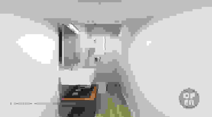 Bathroom by ATELIER OPEN ® - Arquitetura e Engenharia