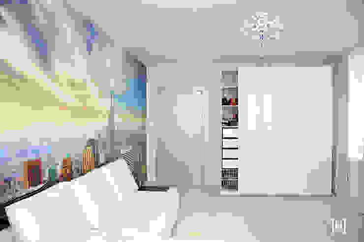 Minimalist bedroom by Hunter design Minimalist Plastic