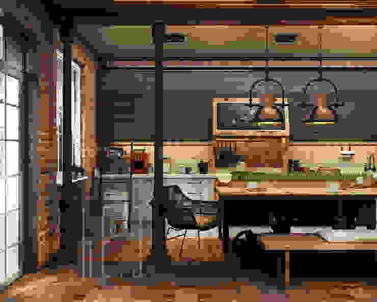 H7 Кухня в классическом стиле от he.d group Классический Металл