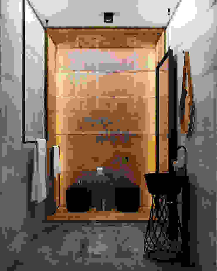H7 Ванная в стиле лофт от he.d group Лофт Медь / Бронза / Латунь