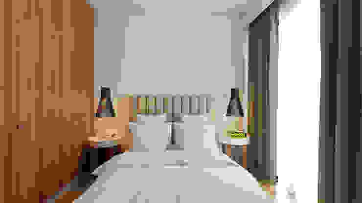 Minimalistische Schlafzimmer von José Tiago Rosa Minimalistisch