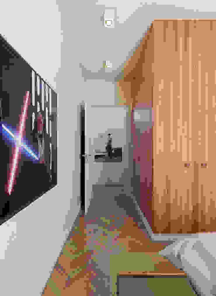 Dormitorios minimalistas de José Tiago Rosa Minimalista