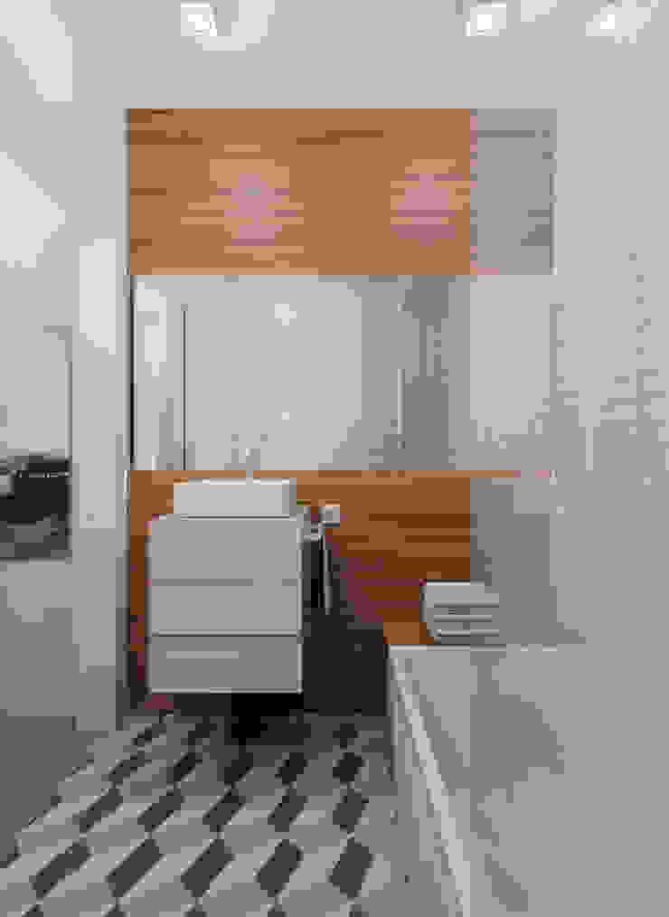 Mini T1 Casas de banho minimalistas por José Tiago Rosa Minimalista