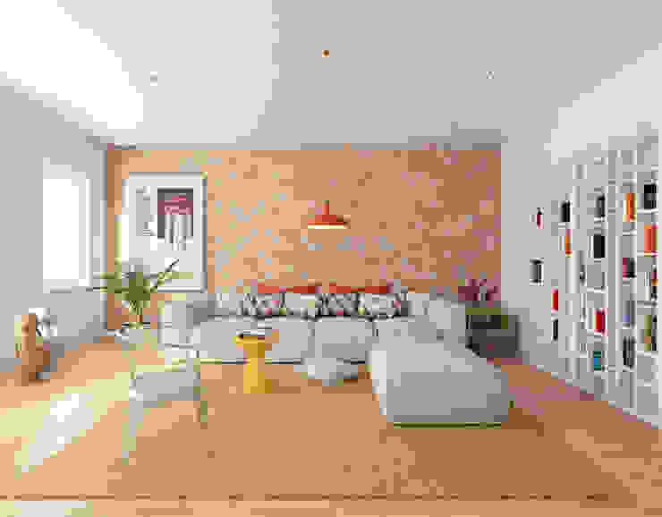 Salones de estilo minimalista de José Tiago Rosa Minimalista