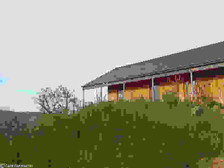 Maison MD Maisons modernes par CARRE d'ARCHITECTES Moderne Bois Effet bois