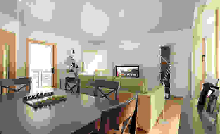 Apartamento Ikea Salas de jantar minimalistas por José Tiago Rosa Minimalista
